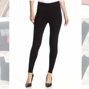 Vince Camuto Black Ponte Knit Leggings Small